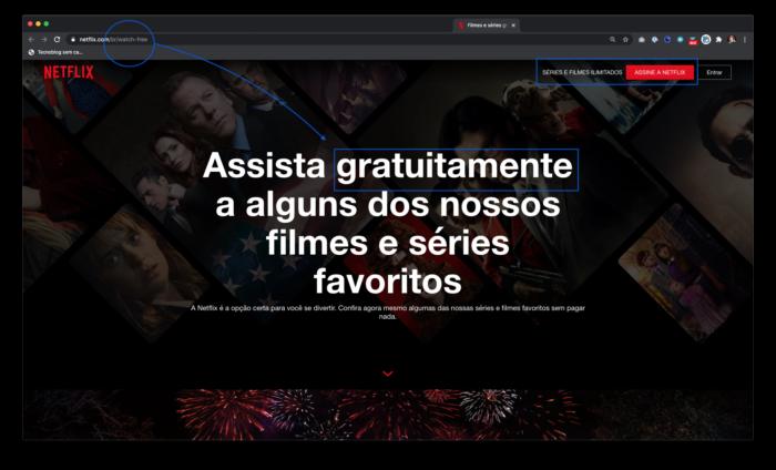 Netflix Watch Free (Imagem: Divulação / Netflix)