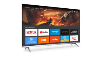 AOC Série 6305: TV 4K recebe e transmite áudio por Bluetooth