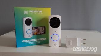 Smart Vídeo Porteiro Wi-Fi Positivo: um reforço na segurança residencial