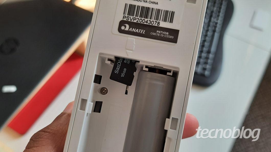 Smart Video Porteiro Wi Fi Positivo microsd