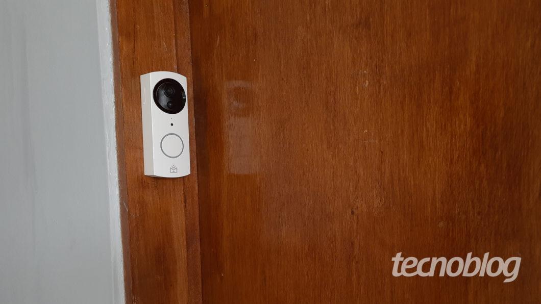 Smart Video Porteiro Wi Fi Positivo porteiro 3