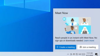 Windows 10 testa integrar chamadas de vídeo por Skype Meet Now