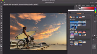 Adobe Photoshop terá recurso de IA que troca o céu nas fotos