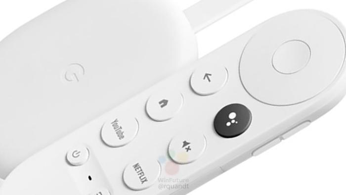 Controle remoto Chromecast com Google TV