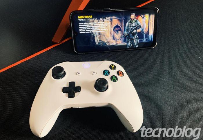 Como conectar controle Xbox One no celular / Diego Melo / Reprodução