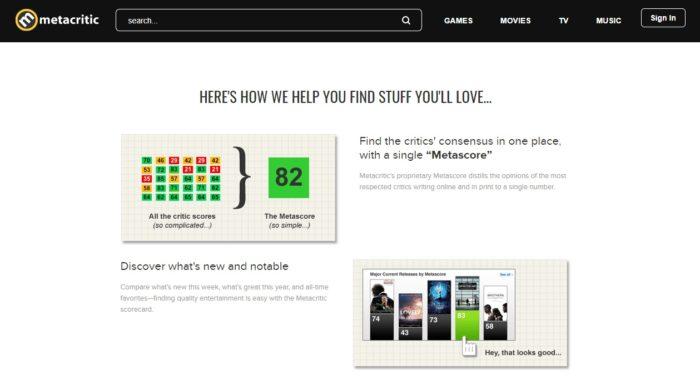 Como funcionam as notas do Metacritic / Diego Melo / Reprodução