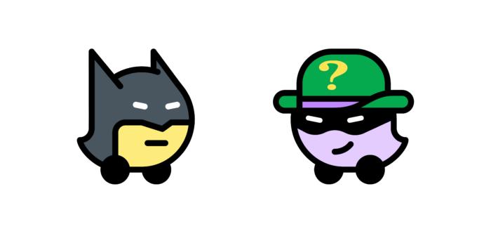 Como usar vozes do Batman e do Charada no Waze / Assessoria Waze / Divulgação