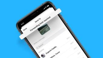 Facebook Messenger segue WhatsApp e limita mensagens encaminhadas