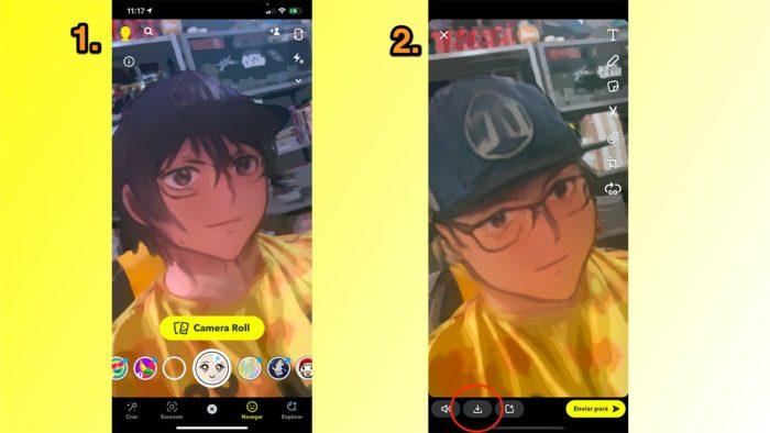 Como usar filtro de anime em fotos [Snapchat & TikTok] / Reprodução / Felipe Vinha
