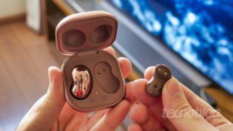 Samsung Galaxy Buds Live: feijões com som