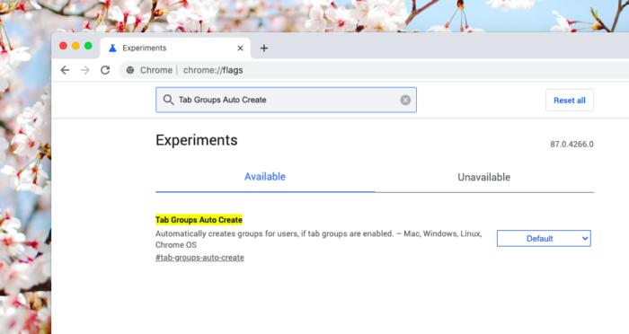 Google Chrome prepara agrupamento automático de abas (Foto: Reprodução/Tecnoblog)