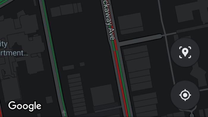 Google maps libera modo escuro no Android