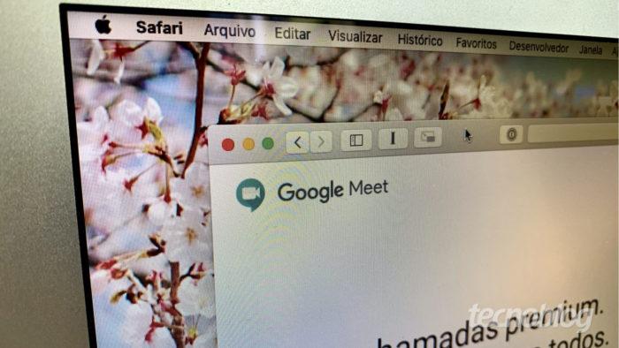 Google Meet (Foto: Bruno Gall De Blasi/Tecnoblog)