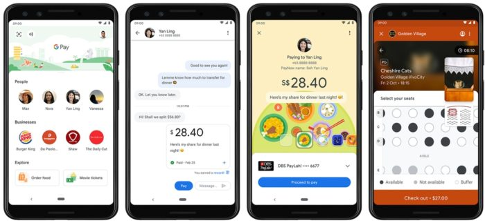 Google Pay - dividr conta