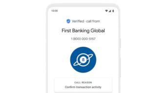 App de telefone do Google ganha verificação de chamadas