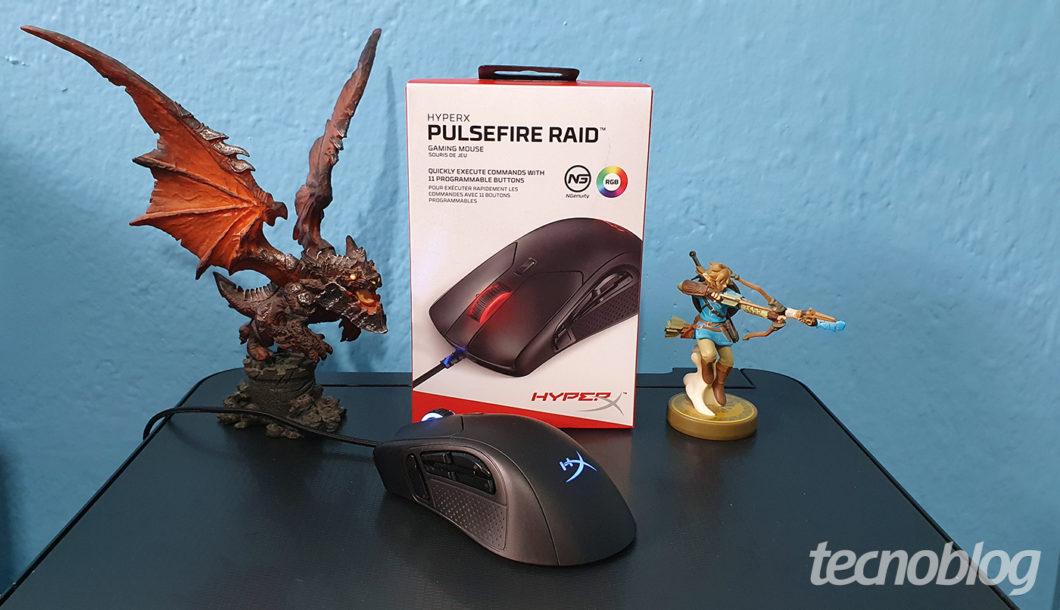 HyperX Pulsefire Raid / Vivi Werneck - Tecnoblog