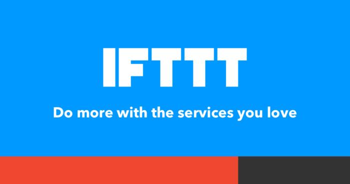 IFTTT (Foto: Reprodução/IFTTT)