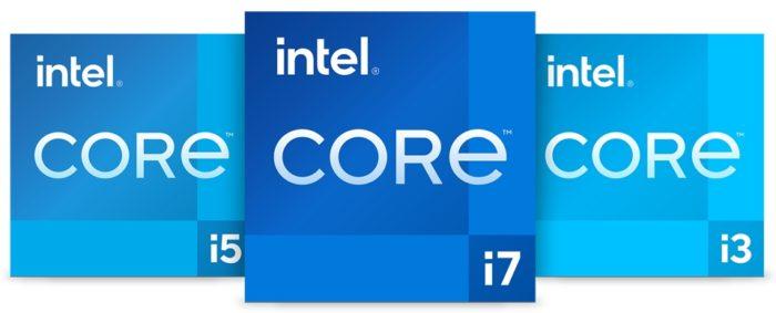 Intel Core de 11ª geração Tiger Lake - novo padrão visual