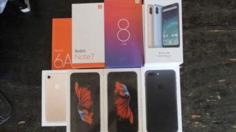 Receita Federal faz leilão milionário de iPhones, Xiaomi, PS4 e Xbox