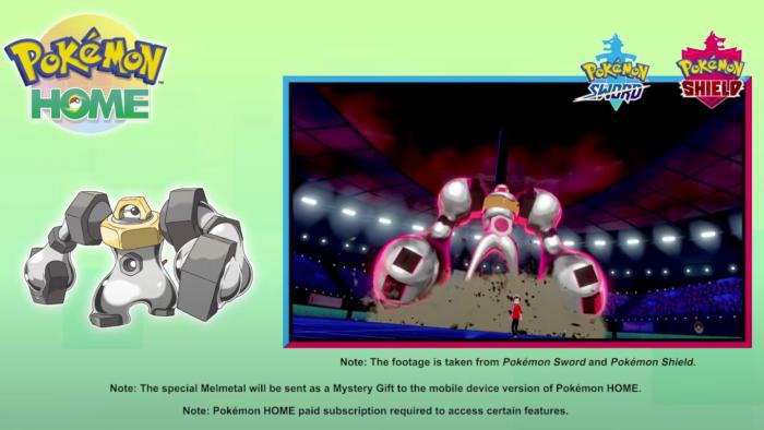 Melmetal Pokémon Sword e Shield