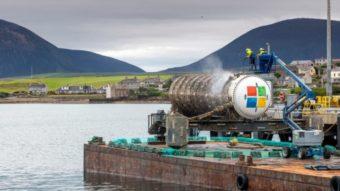 Microsoft testa com sucesso datacenter mergulhado no mar