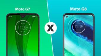 Moto G7 ou G8; qual a diferença?