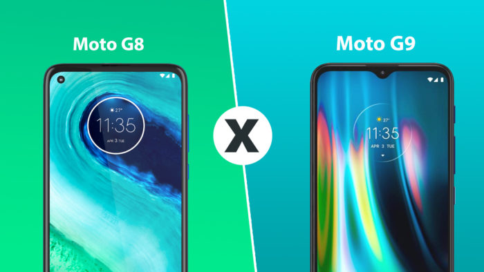 comparativo: moto g8 vs moto g9