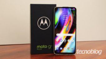 Motorola Moto G9 Plus: telona e experiência premium