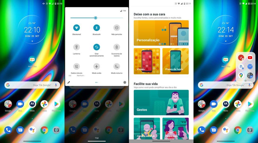 Motorola Moto G9 Plus - software