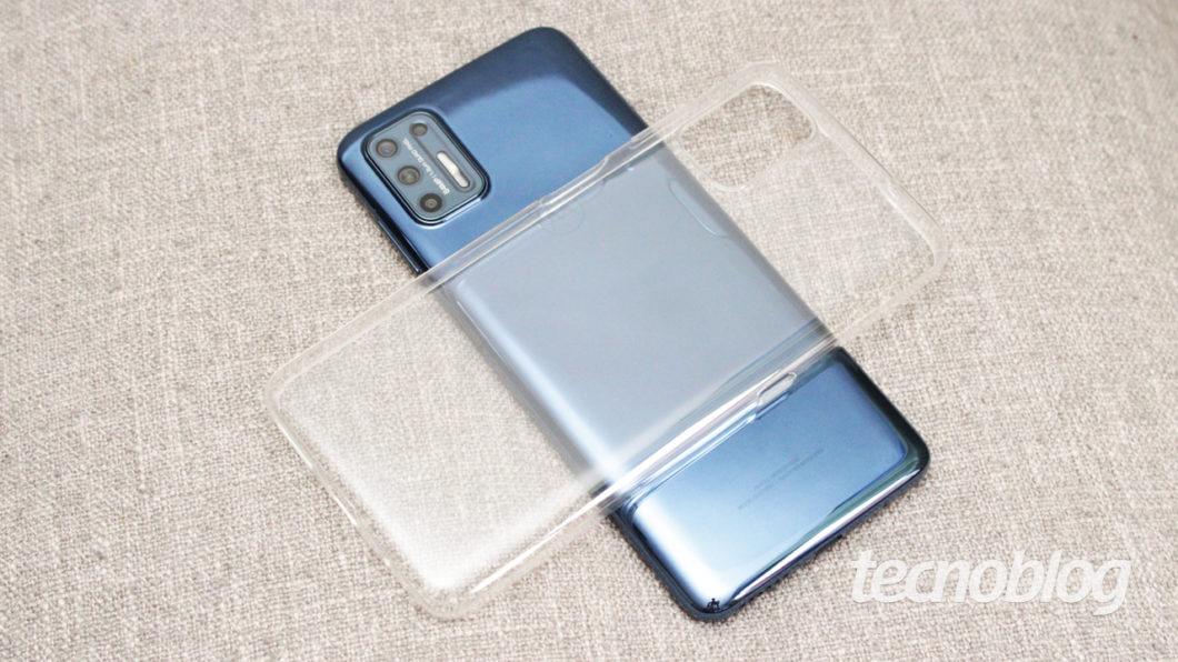 Motorola Moto G9 Plus - capa