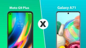 Comparativo: Moto G9 Plus vs Galaxy A71; qual é o melhor?