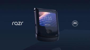 Motorola Razr 5G dobrável é lançado com câmera de 48 megapixels