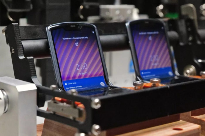 Teste do Motorola Razr 5G (Foto: Patrick Holland/CNET)
