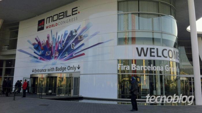 Entrada da MWC, em Barcelona (Foto: André Fogaça/Tecnoblog)