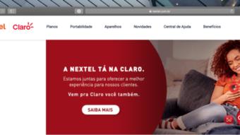 Nextel sugere Claro Flex e Controle após encerrar venda de planos