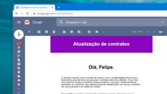 Nubank atualiza contrato de conta e cartão devido à LGPD