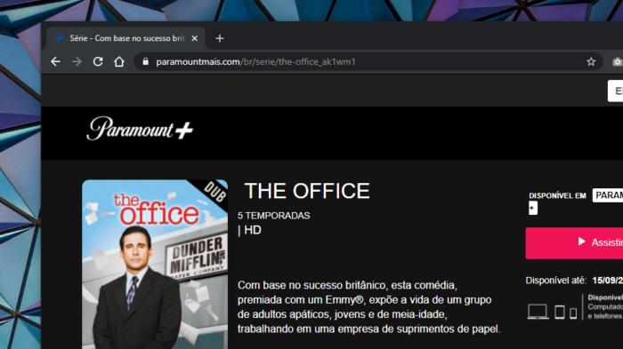 Site do Paramount+
