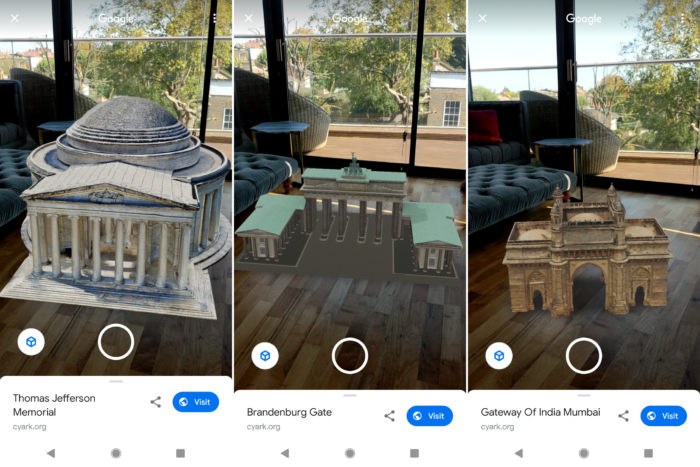 Google reúne destinos turísticos em realidade aumentada