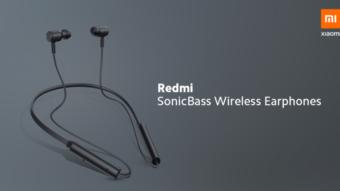 Xiaomi lança fones de ouvido Redmi SonicBass Wireless