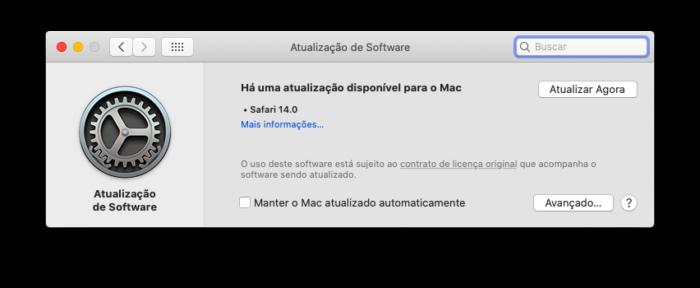 Apple libera Safari 14 para macOS Catalina e Mojave; saiba como atualizar (Foto: Reprodução/Tecnoblog)
