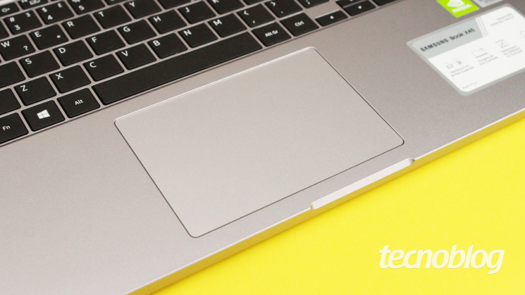 Samsung Book X45 - touchpad
