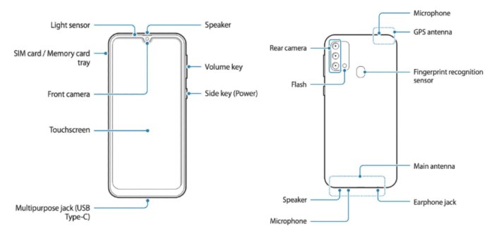 Manual do possível Samsung Galaxy F41 (Foto: Reprodução/Ishan Agarwal/91Mobiles)