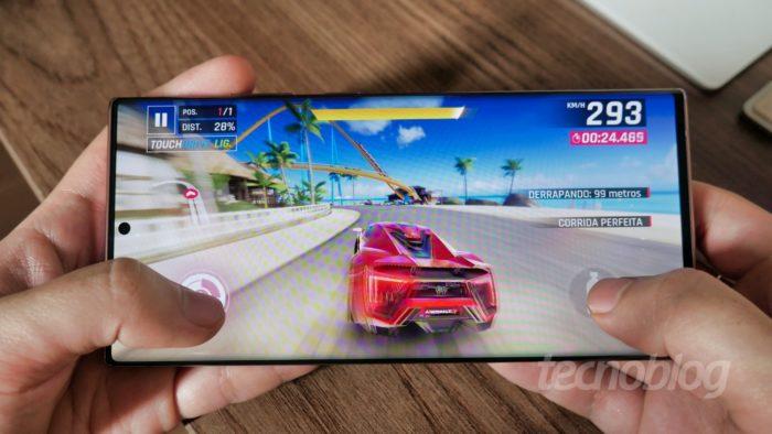 Samsung Galaxy Note 20 Ultra (Imagem: Paulo Higa/Tecnoblog)