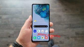 Samsung Galaxy S20 Fan Edition aparece em fotos vazadas
