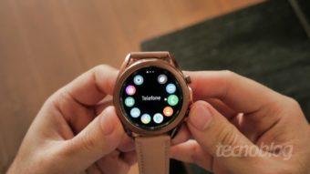 Relógios da Samsung vão receber três anos de atualizações, mas não Wear OS