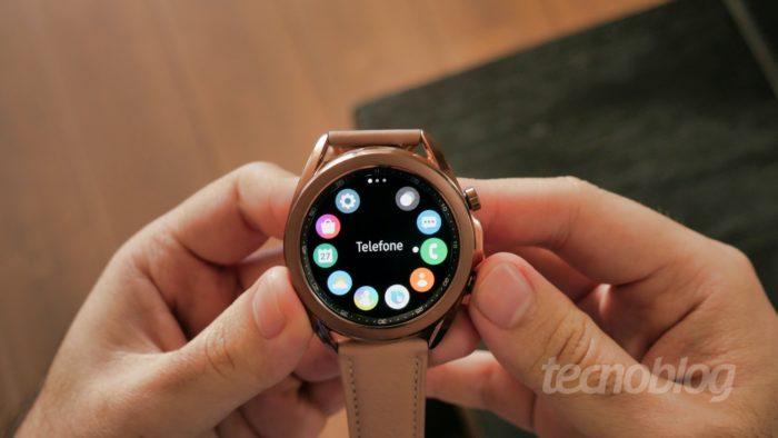 Samsung Galaxy Watch 3 (Imagem: Paulo Higa/Tecnoblog)