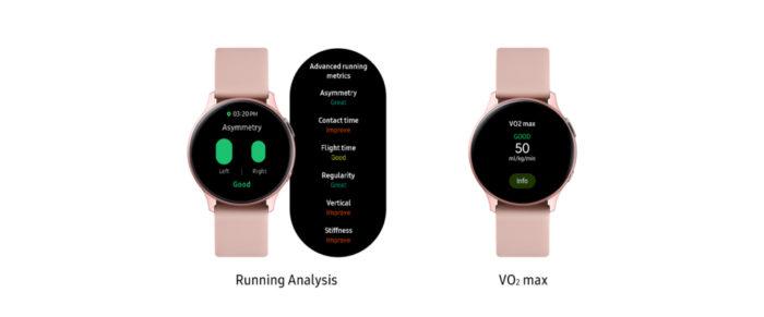 Samsung Galaxy Watch Active 2 ganha novas métricas para corridas (Foto: Divulgação/Samsung)