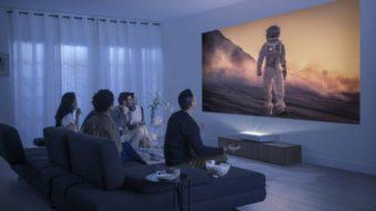Samsung The Premiere é o primeiro projetor laser 4K com HDR10+