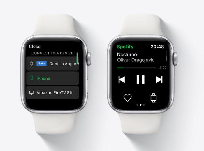 Spotify testa streaming de músicas pelo Apple Watch (Foto: Reprodução/iPhone Ticker)