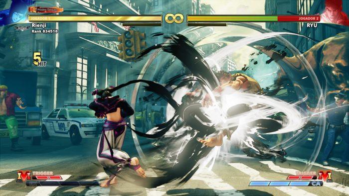 3 truques com o Juri em Street Fighter V / Reprodução / Felipe Vinha